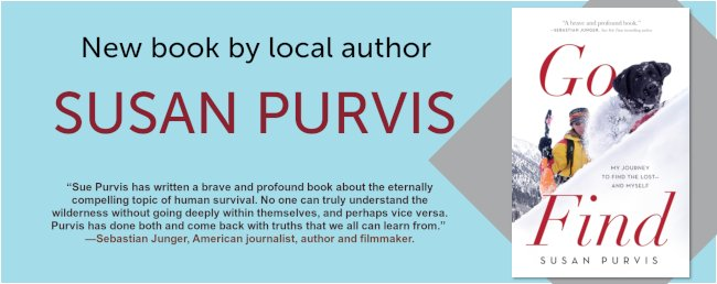 Go Find - My Journey to Find the Lost - and Myself - Book Susan Purvis