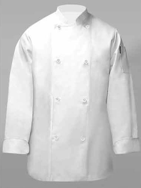 Chef Coat W/Wht Buttons