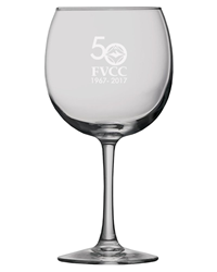 FVCC Sanctuary Red Wine Glass-50Th Anniversary