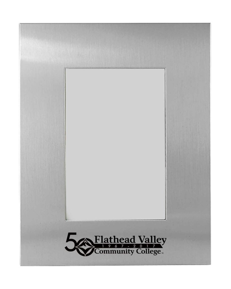 50Th Anniversary Fvcc Brushed Metal Pic Frame (SKU 1025485136)